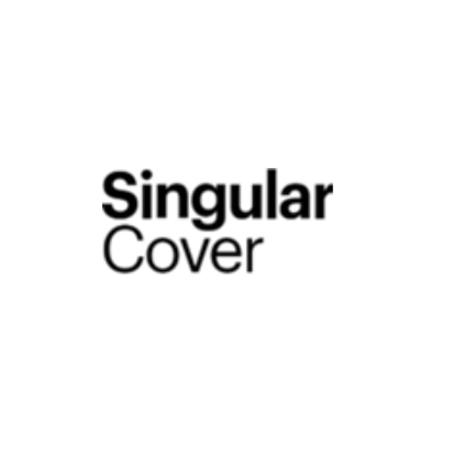 Singular Cover company logo text